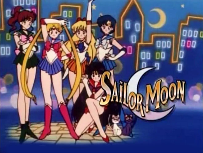 VIDEO: Title Sequence –Sailor Moon (1995) English main titles