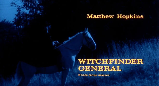 VIDEO: Title Sequence – Witchfinder General (1968) aka The Conqueror Worm