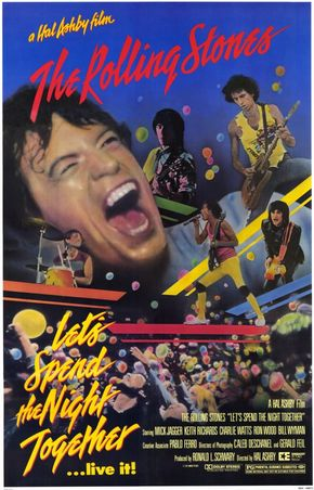 IMAGE: Pablo Ferro Rolling Stones Let's Spend the Night Together tour film poster