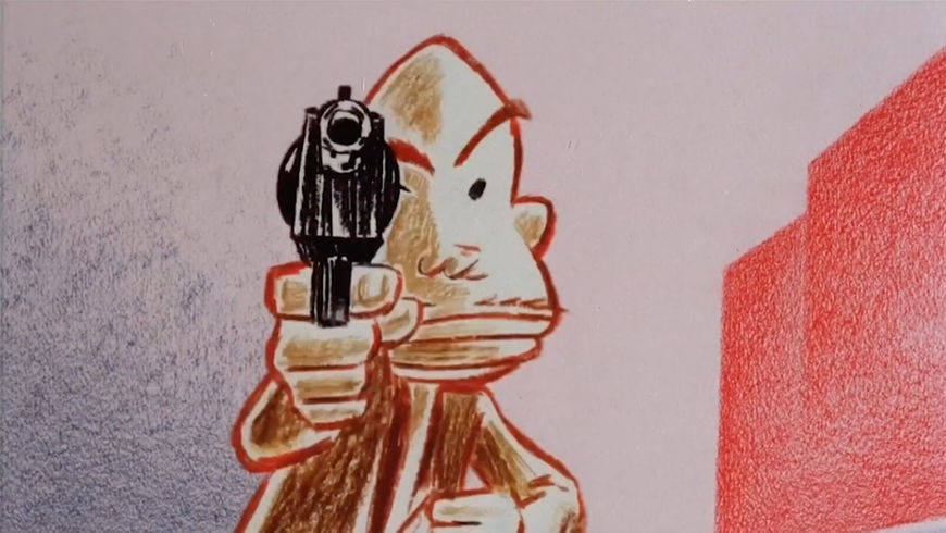 IMAGE: Still - criminal with gun