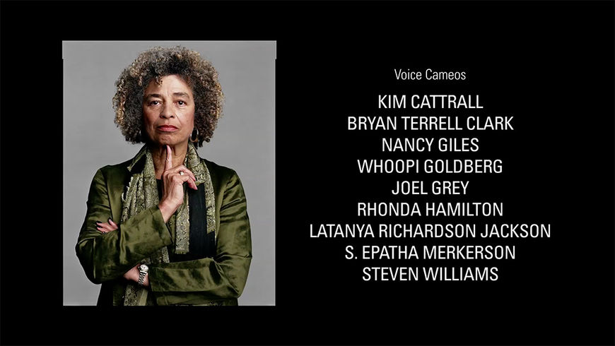 IMAGE: End Credits Photo - Angela Davis