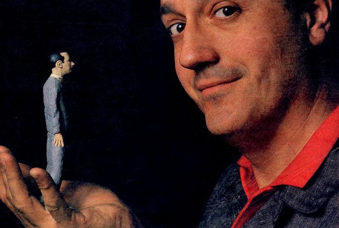 IMAGE: Phil Trumbo Holding Pee-wee