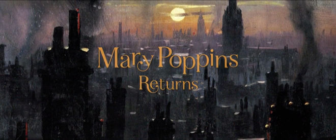 IMAGE: Mary Poppins Returns title card