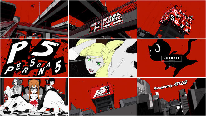 VIDEO: Title Sequence – Persona 5 (2017)