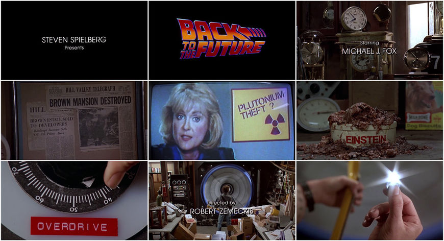 VIDEO: Title Sequence - Back to the Future
