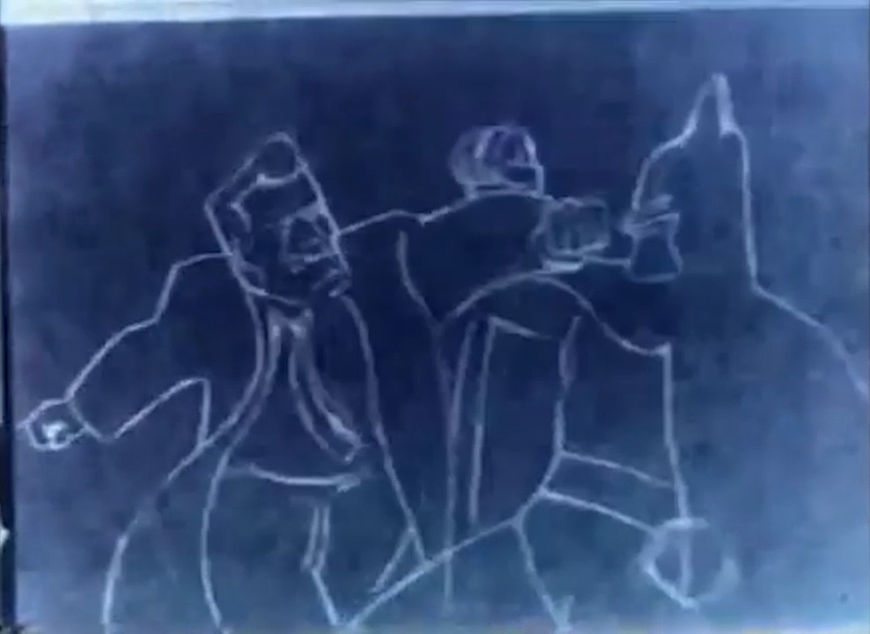 VIDEO: Short – Batman: The Animated Series (1992) Proof-of-Concept Pencil Test