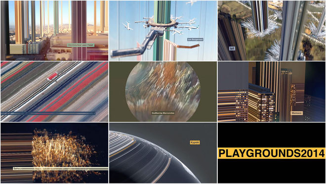 Playgrounds Festival 2014 Title Sequence