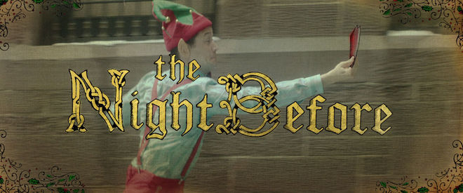 VIDEO: Interior Main Title – The Night Before (2015)