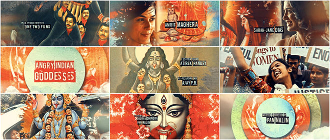 VIDEO: Title Sequence – Angry Indian Goddesses