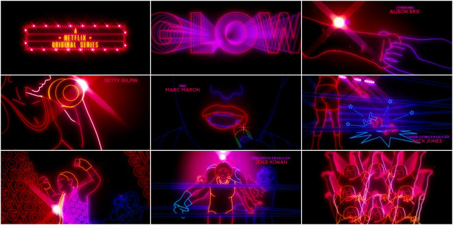 VIDEO: Title Sequence – Glow (2017)