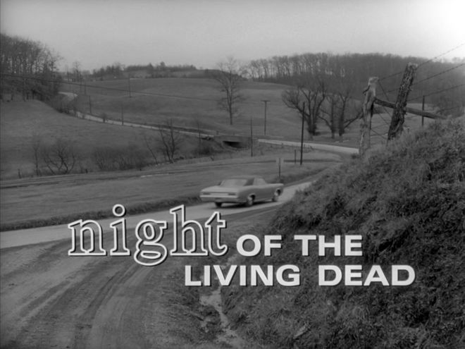 VIDEO: Title Sequence – Night of the Living Dead (1968)