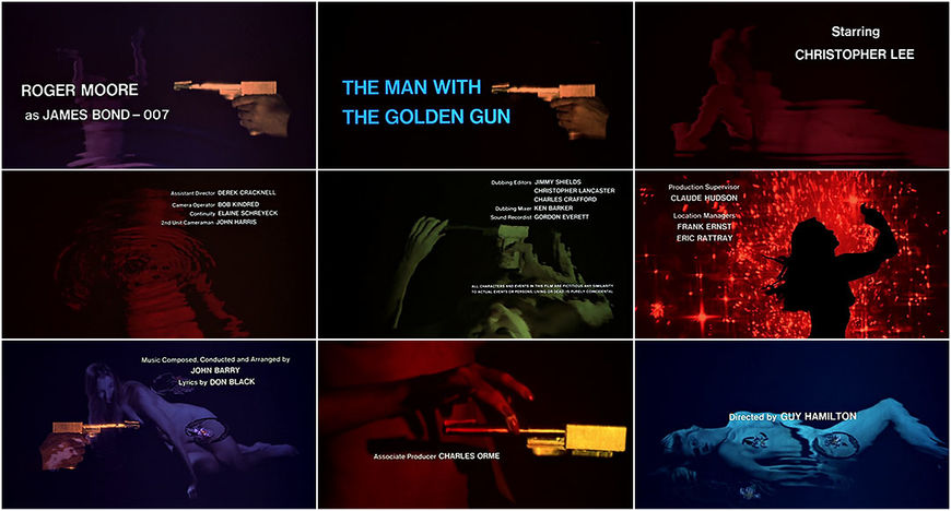 VIDEO: Title Sequence – The Man with the Golden Gun