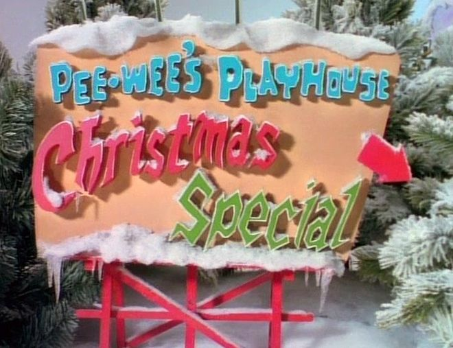 VIDEO: Pee-wee's Playhouse Christmas Special (1988) Opening