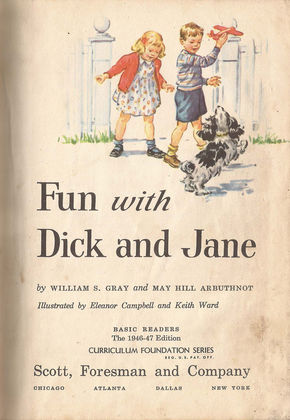 IMAGE: Fun with Dick and Jane inside cover