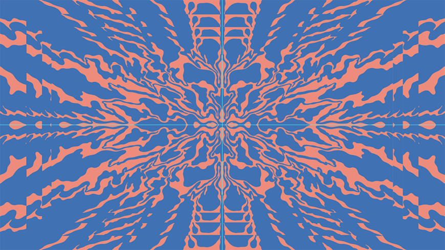 IMAGE: Illustrator screenshot – orange blue background