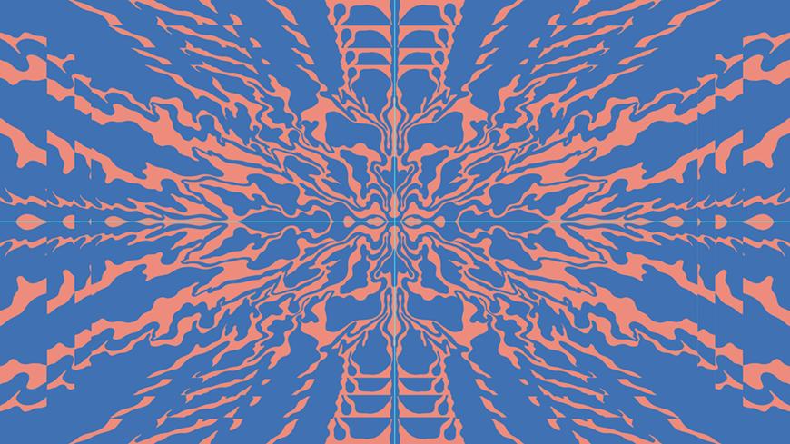 IMAGE: Illustrator screenshot – orange blue background