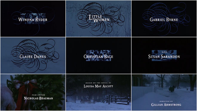 VIDEO: Title Sequence - Little Women (1994)