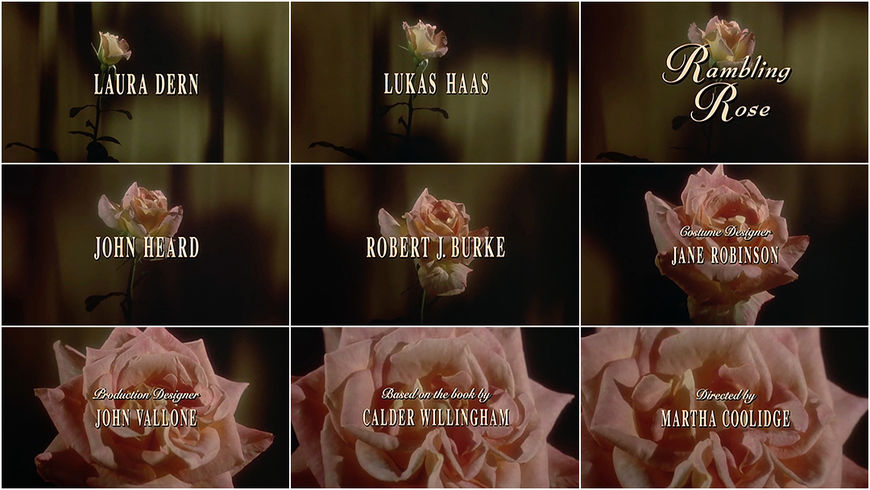 VIDEO: Title Sequence - Rambling Rose