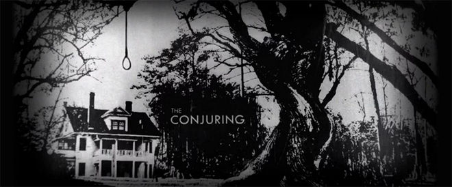 Video: The Conjuring title sequence