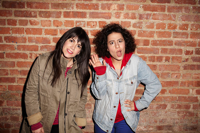 IMAGE: Abbi Jacobson and Ilana Glazer