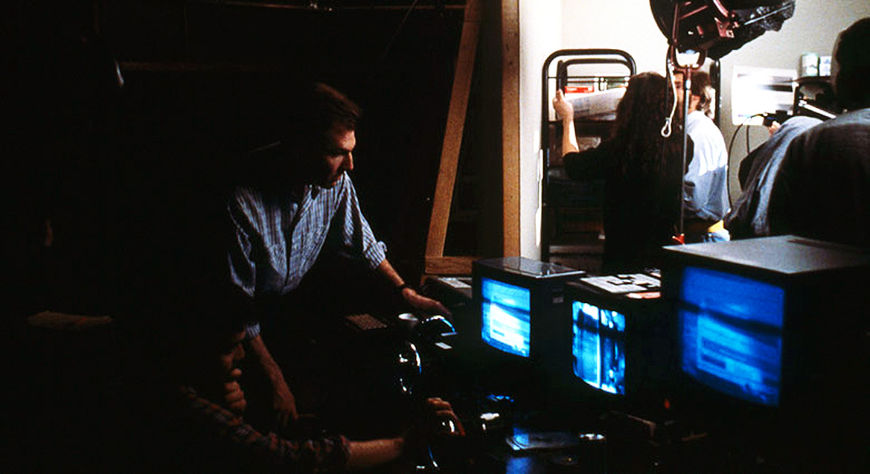 IMAGE: Randall Balsmeyer on Dead Ringers Set
