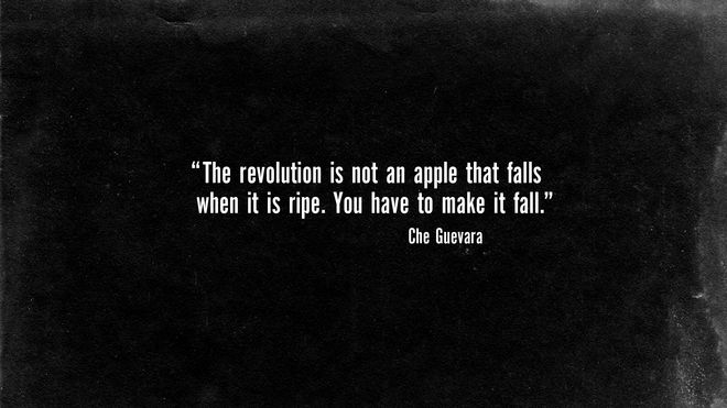 IMAGE: Opening Che Guevara quote