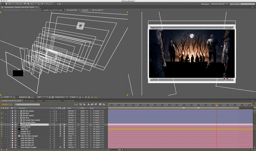 After Effect project screenshot