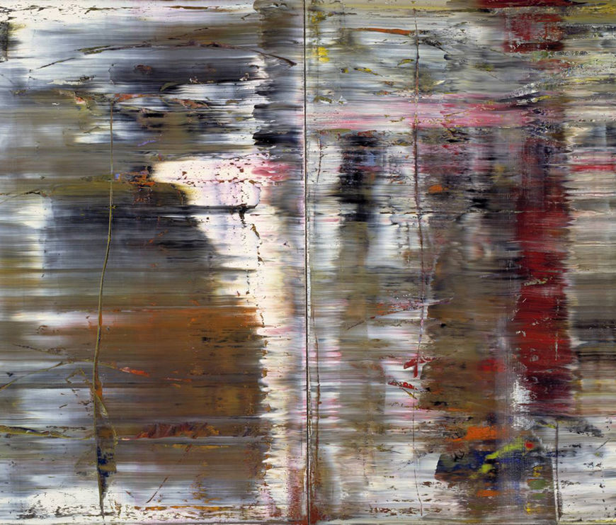 IMAGE: Gerhard Richter's Abstraktes Bild (726)