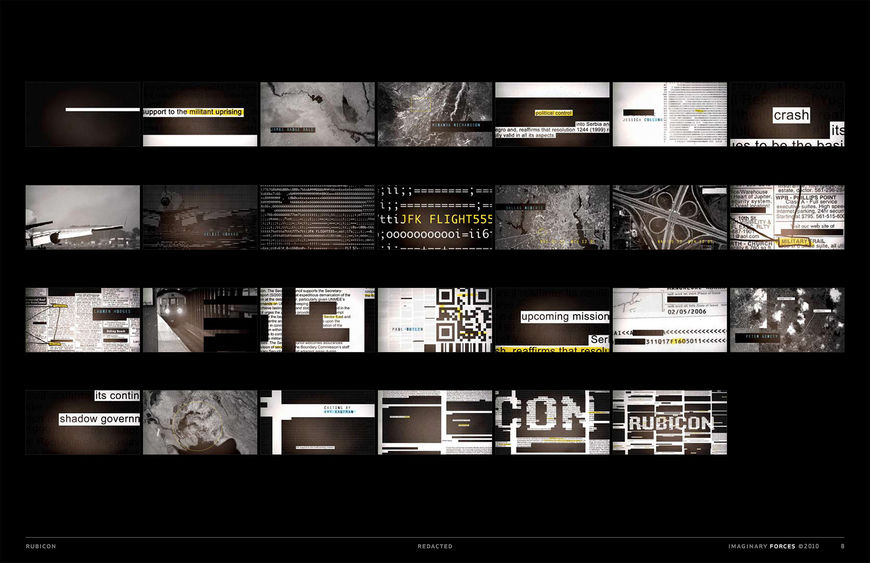Storyboards, Set Four 'Redacted'
