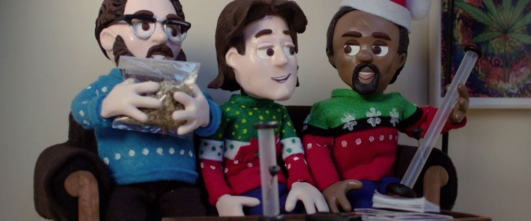 VIDEO: Animatic - The Night Before (2015) Stop-Motion Test Footage