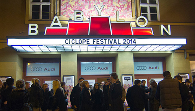 IMAGE: Photo – Ciclope Festival Marquee