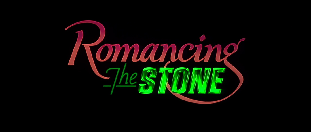 IMAGE: Romancing the Stone title card