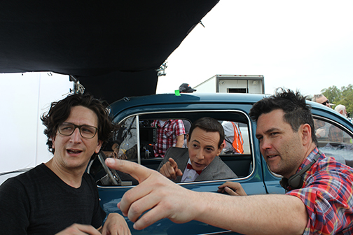 IMAGE: Pee-wee's Big Holiday BTS still
