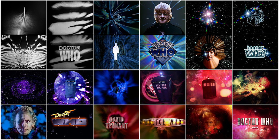 Doctor Who 50 Years Of Main Title Design Art Of The Title