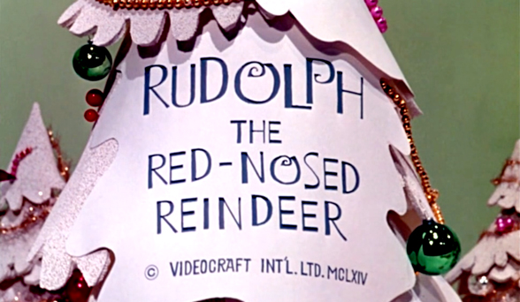 Rudolph The Red Nosed Reindeer 1964 Art Of The Title